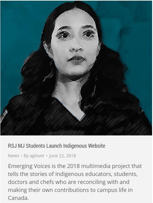 Indigenous website snip